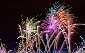 fireworks, explosion