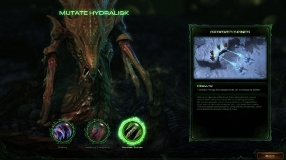 StarCraft II: Heart of the Swarm - abilities, mutations, evolutions, achievements
