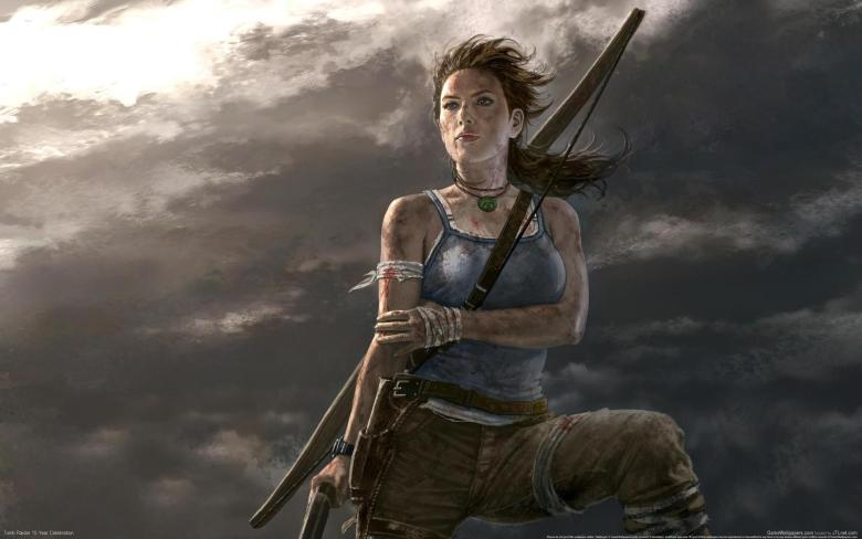 Lara Croft considers all that money she made for Square Enix.