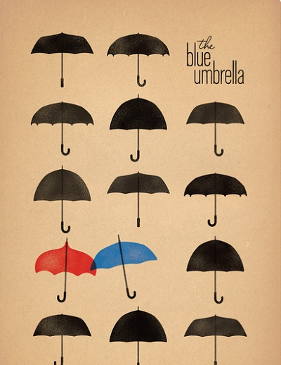 blue umbrella 3