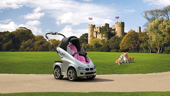 bmw royal baby carriage