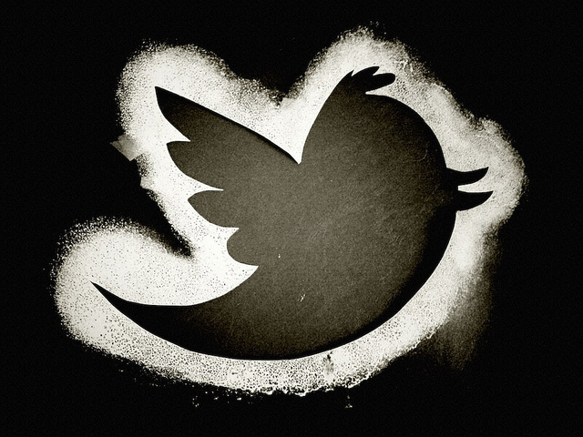 Twitter bird outline