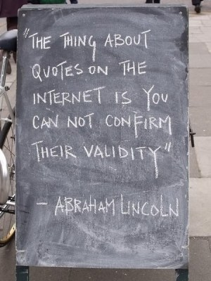 fakeabelincolnquote