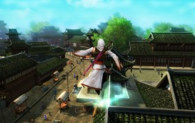 MMORPG Age of Wushu in action.