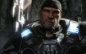 A screenshot from one of Rod Fergusson's projects, Gears of War 2.