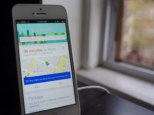 Google Now on the iPhone