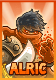 Kingdom Rush Frontiers - Alric (hero)