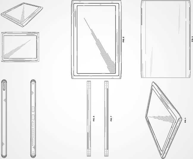 Nokia patented tablet