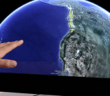 Google Earth Leap Motion