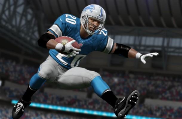 Barry Sanders Madden NFL 25