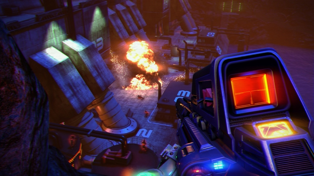 Blood Dragon stood apart from Far Cry 3 despite many similarities.
