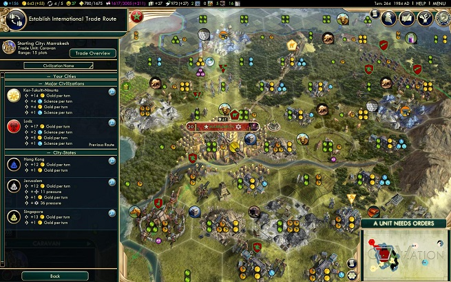 Civ V Brave New World Trade Routes