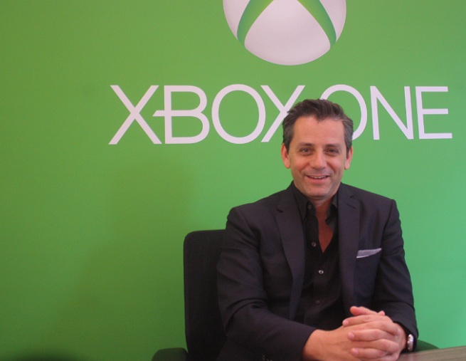 eric hirshberg at xbox reveal