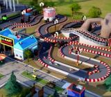 A go-kart track in EA's SimCity.