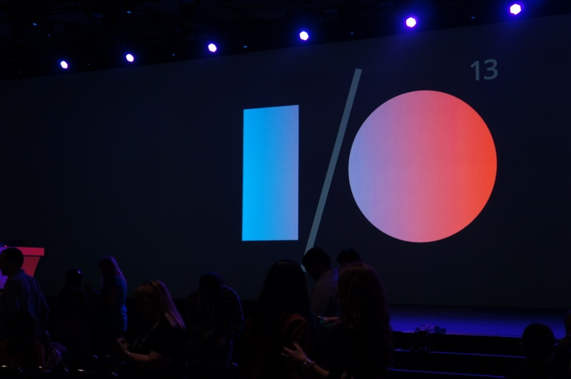 Before the festivities began at I/O 2013