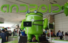 A serious Android at Google I/O 2013.