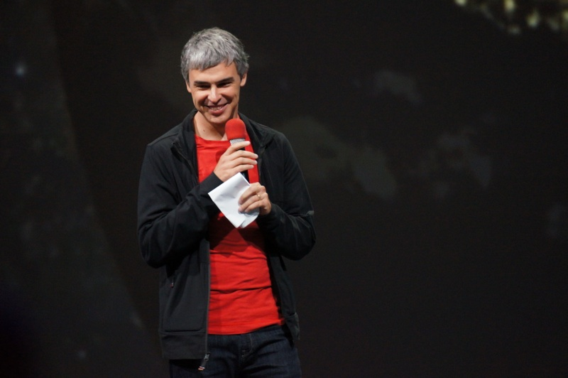 Google IO 2013 Larry Page1