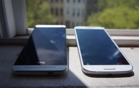 HTC One and Samsung's Galaxy S4