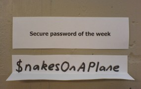 secure password