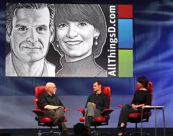Motorola CEO Dennis Woodside and SVP advanced projects Regina Duggan
