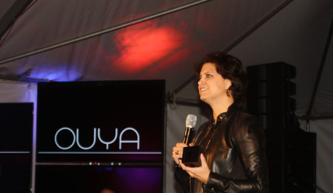 ouya julie uhrman