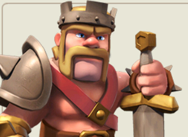 Clash of Clans character art.