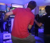 Gamers play Just Dance 2014 at E3 2013.