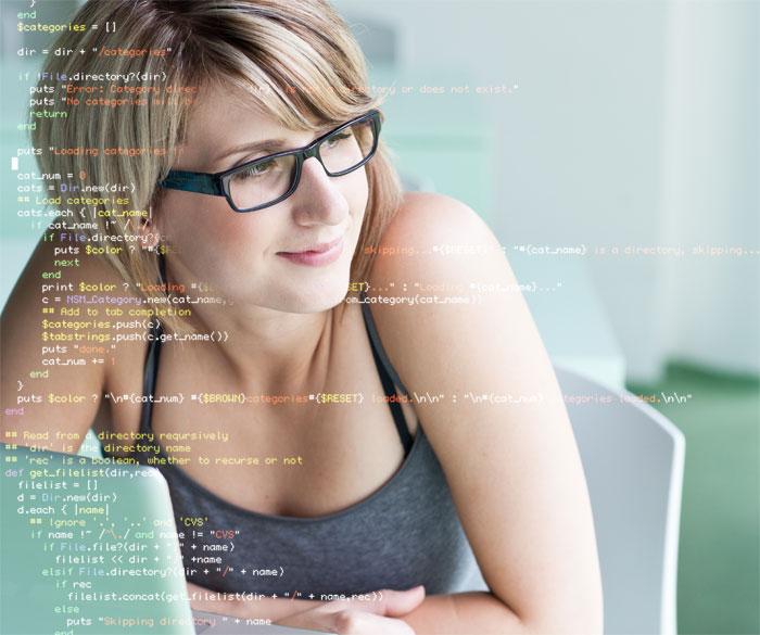 woman code