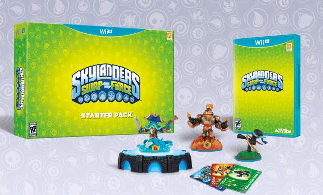 Skylanders toys and games.
