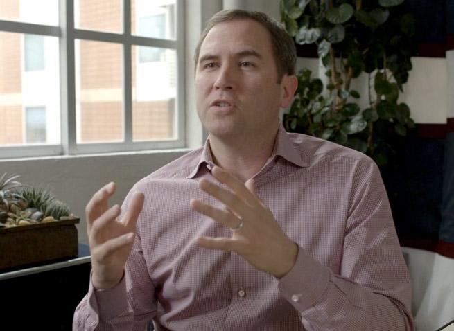 Hightail CEO Brad Garlinghouse.