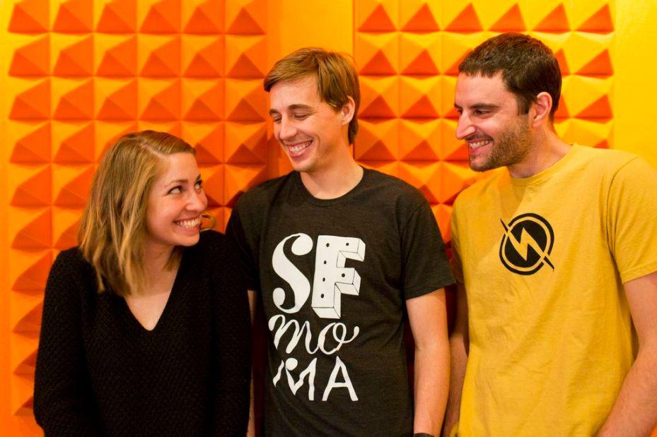 The Watsi team: Grace Garey, Chase Adam, Jesse Cooke