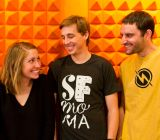 The Watsi team: Grace Garey, Chase Adam, Jesse Cooke
