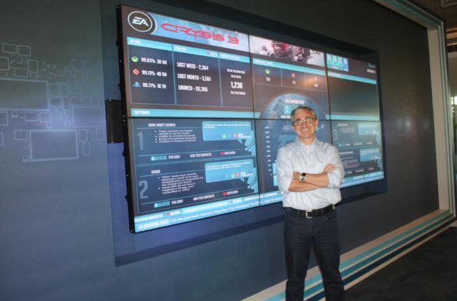 Frank Gibeau, head of EA Mobile