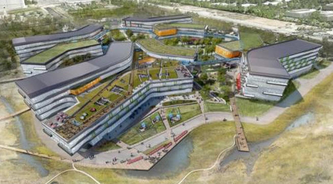 Google's planned campus.