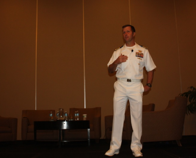 Navy Seal captain Thomas Chaby