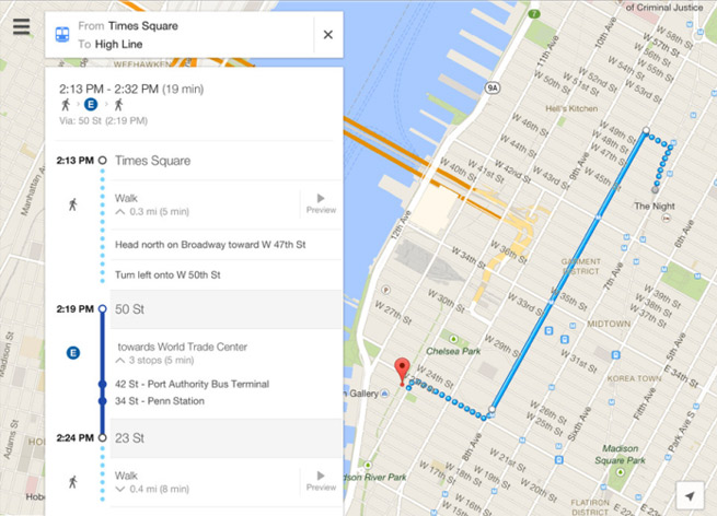 Google Maps is back on the iPad