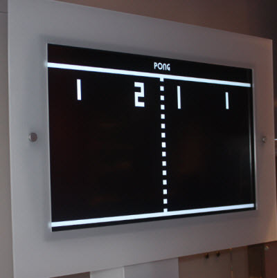Pong at the Computer History Museum
