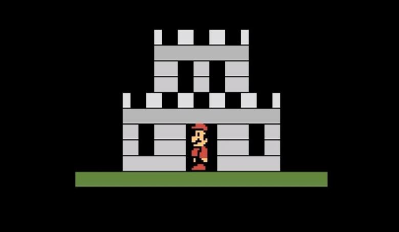 The homebrew remake of Super Mario Bros. for Atari 2600.