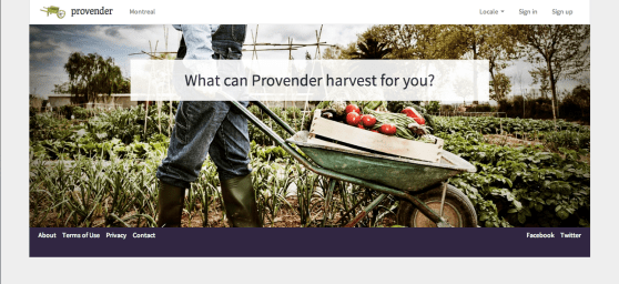 Provender_Home_Page_Screen