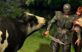 RuneScape Cow