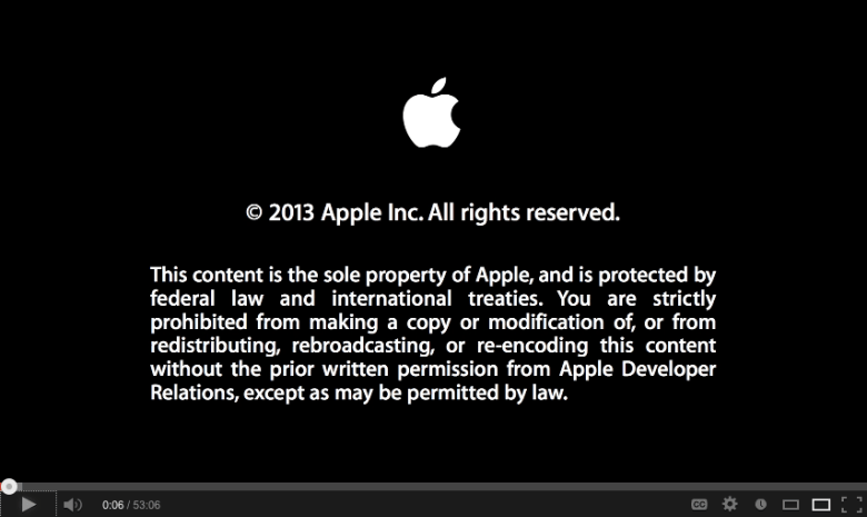 Apple copyright
