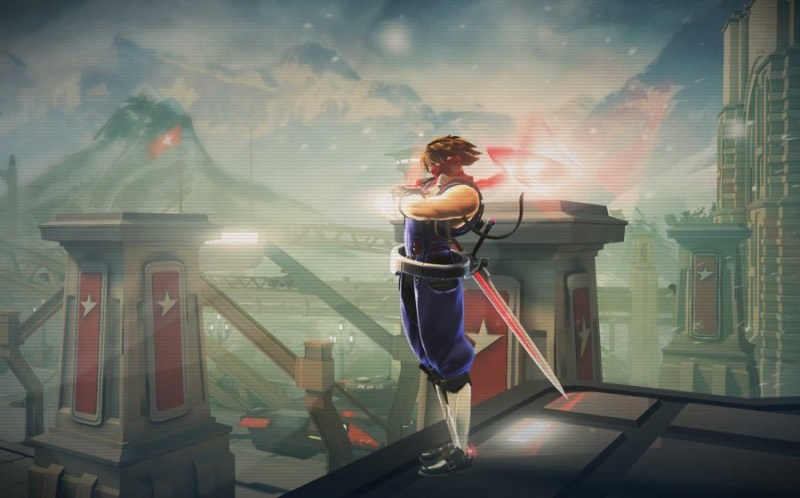 First screens from Capcom's upcoming side-scrolling adventure game Strider.  Developer Double Helix is working on the game for Xbox One and PlayStation 4.  It will debut in 2014.