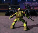 The new Teenage Mutant Ninja Turtles game in action.