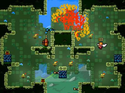 Towerfall is Ouya's top game