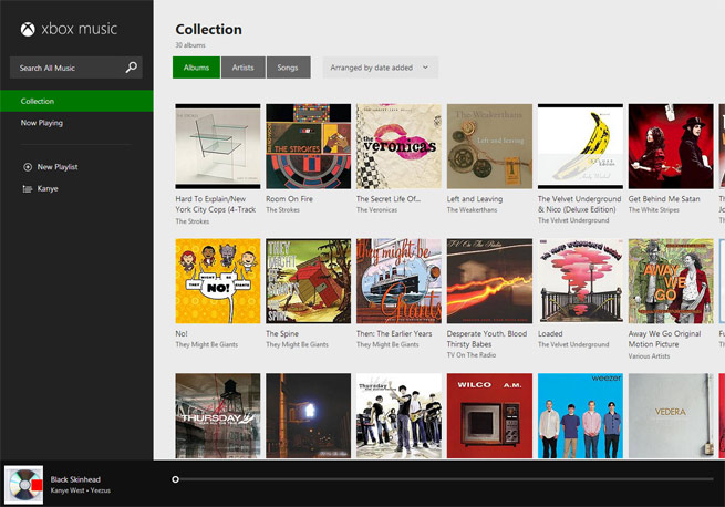 xbox-music-collection