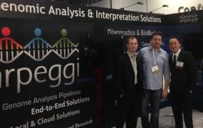 Arpeggi's team: Nir Leibovich, Jason Wang, David Mittelman