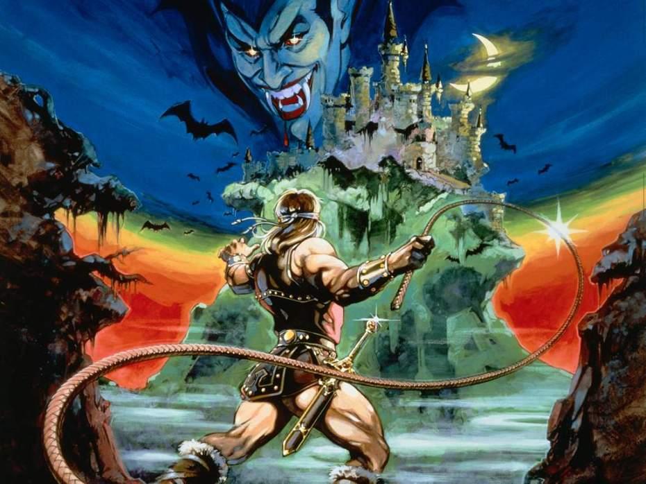 Artwork for Konami's original Castlevania.