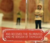 "A 3D-printed ""mini me"" from a Coca-Cola campaign in Israel."