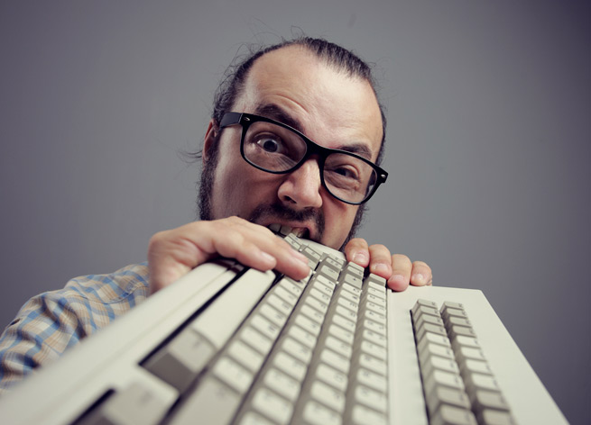 How I feel when I use WebEx or GoToMeeting