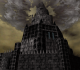 Ganon's tower from The Legend of Zelda: Ocarina of Time.